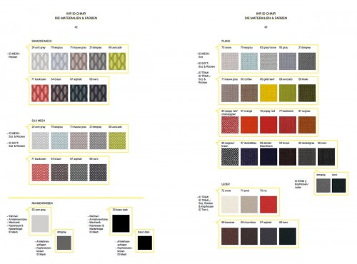 Vitra ID Chair Colors